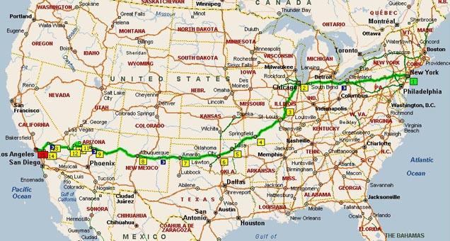 Cartina Stradale Usa Ovest.Freedomlife L Assenza Di Vincoli Viaggio Stati Uniti